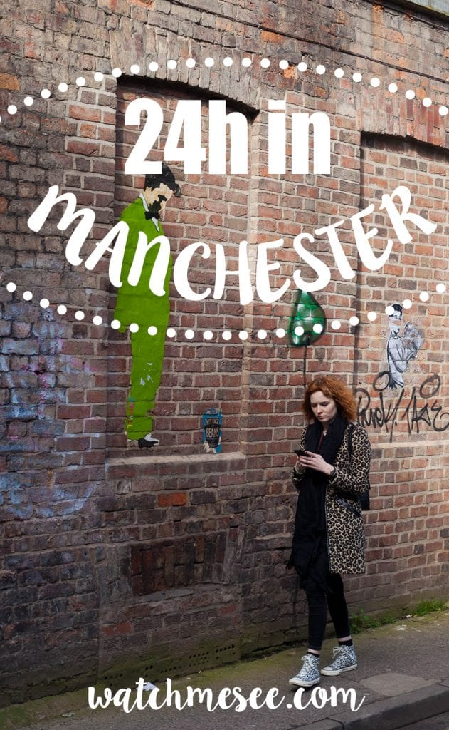A city guide to Manchester - how to spend 24h in Manchester, incl. my favourite (vegan) eateries, vintage shops & street art spots.
