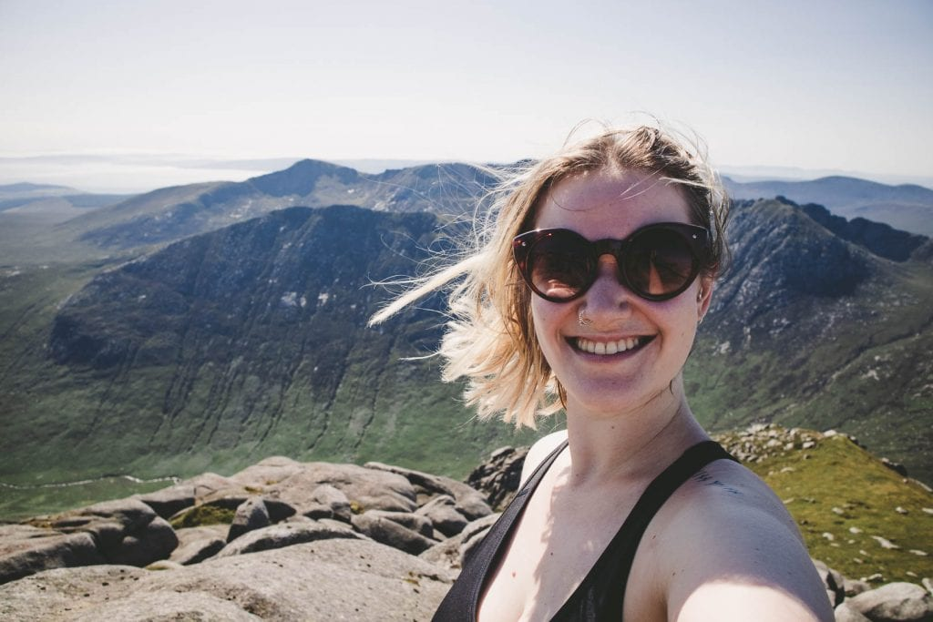 Don't let a sunny day on the Scottish west coast go to waste by spending it in the office. Try a day trip to Arran and hiking up Goatfell instead!