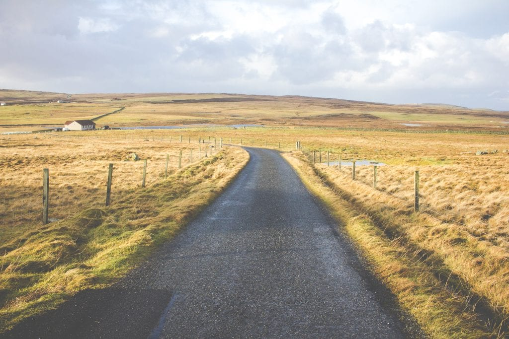 Roadtrip to Unst, Shetland