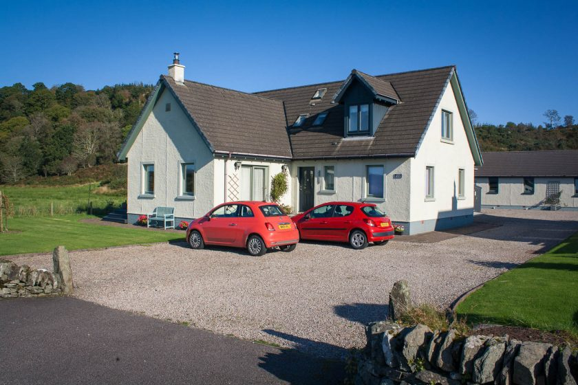 Kingsreach B&B in KIlmartin Glen