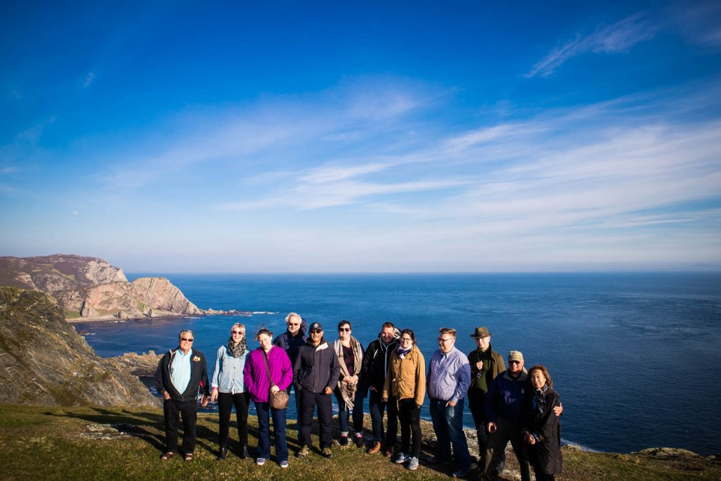 A small tour group with Rabbie's on Islay