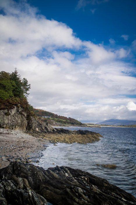 Torrisdale bay in Kintyre