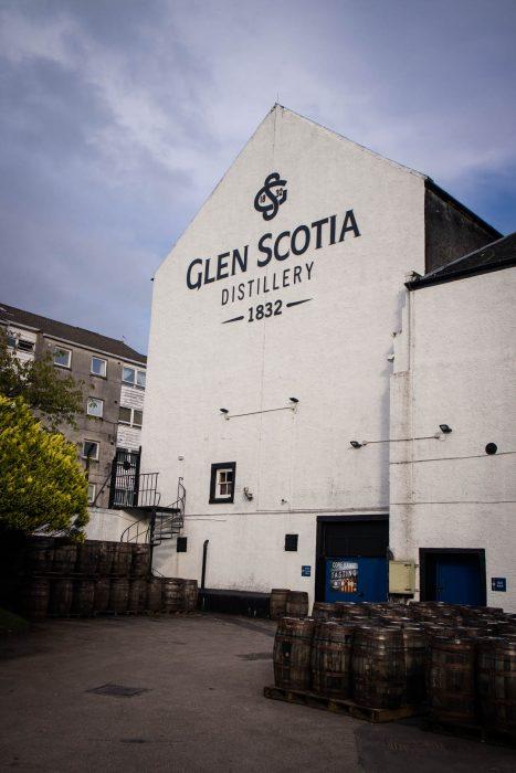 Glen Scotia whisky distillery in Campbeltown