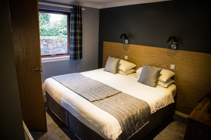 bedroom at Seafield Hotel