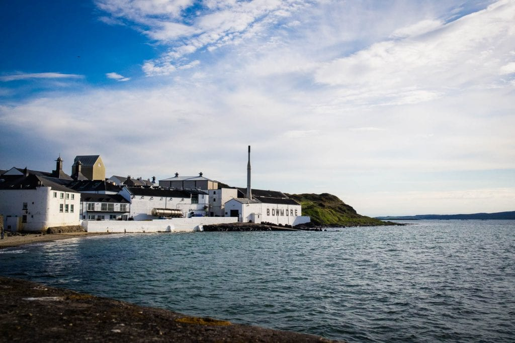 Bowmore Distillery in the Isle of Islay