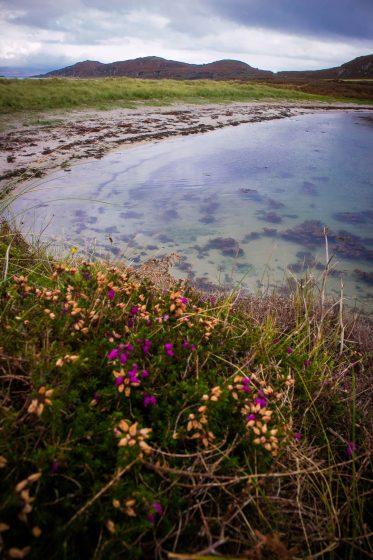 Twin beaches on Isle of Gigha