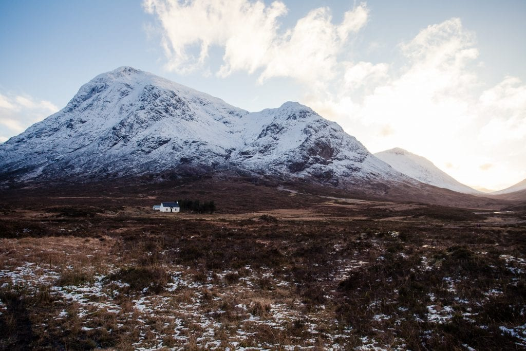 Glencoe in winter