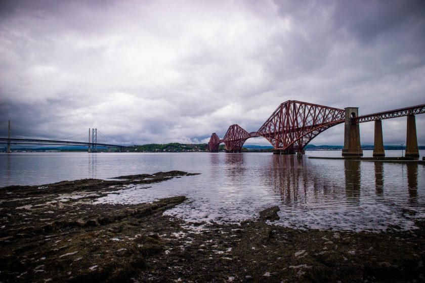 Firth of Forth bridges in South Queensferry