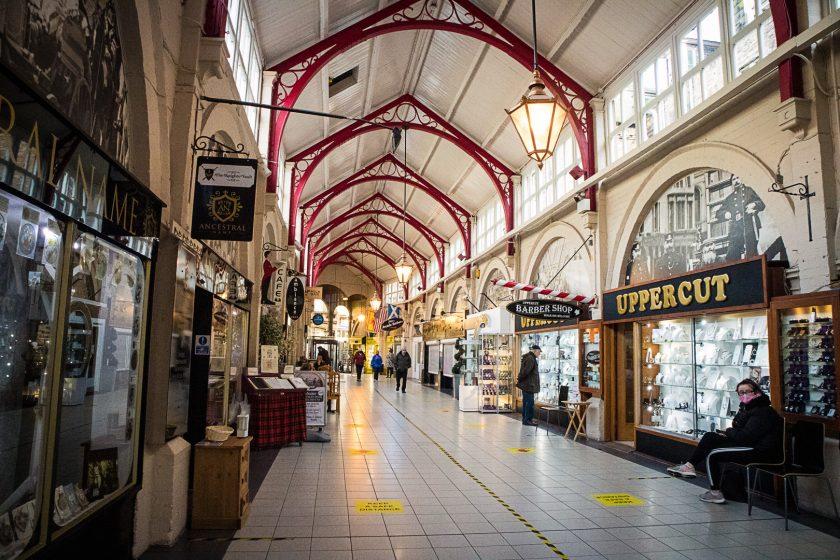 Victorian Market in Inverness Scotland