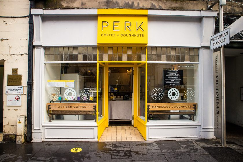 Perk Cafe in Inverness