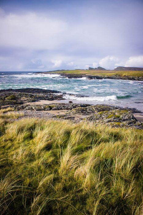 Saligo Bay beach on Islay