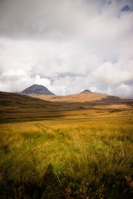 View of the Paps of Jura