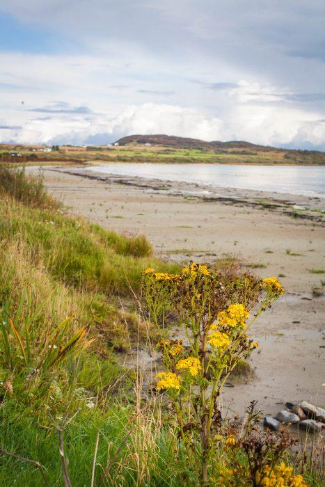 Corran Sands beach on the Isle of Jura