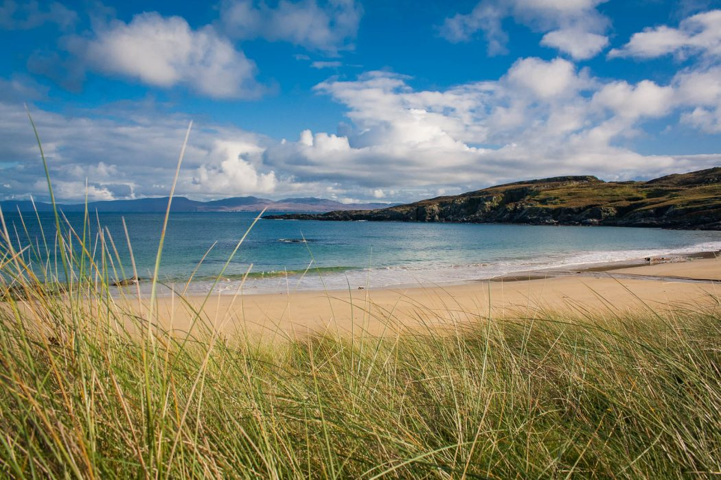 Balnahard bay beach on Colonsay
