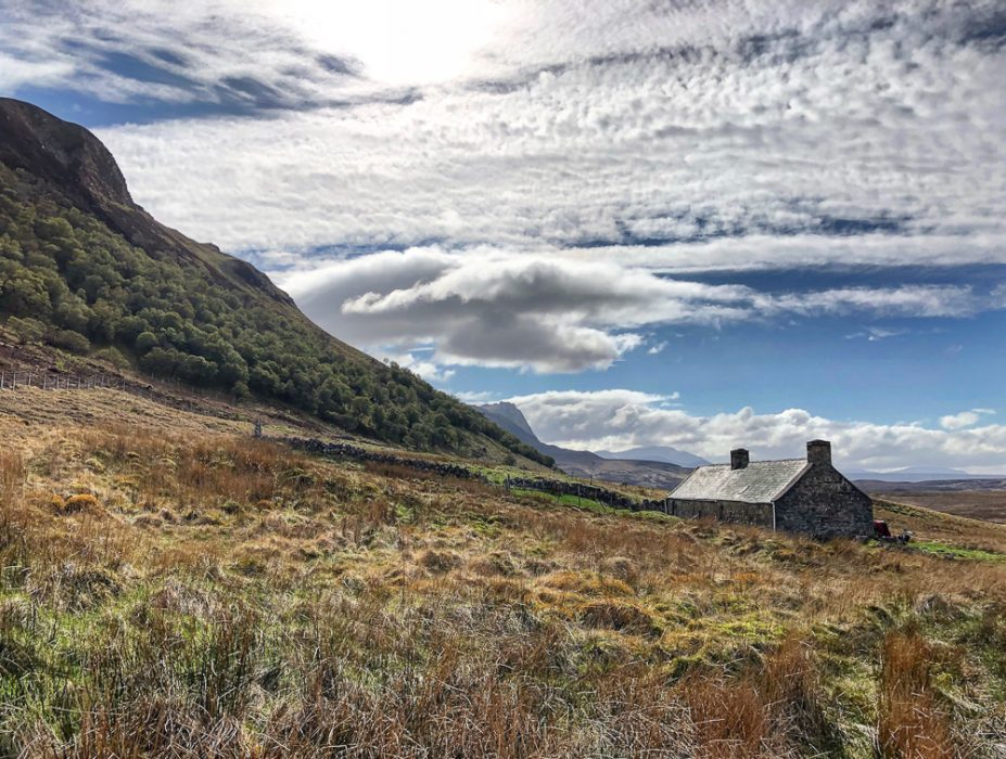 A bothy in Scotland