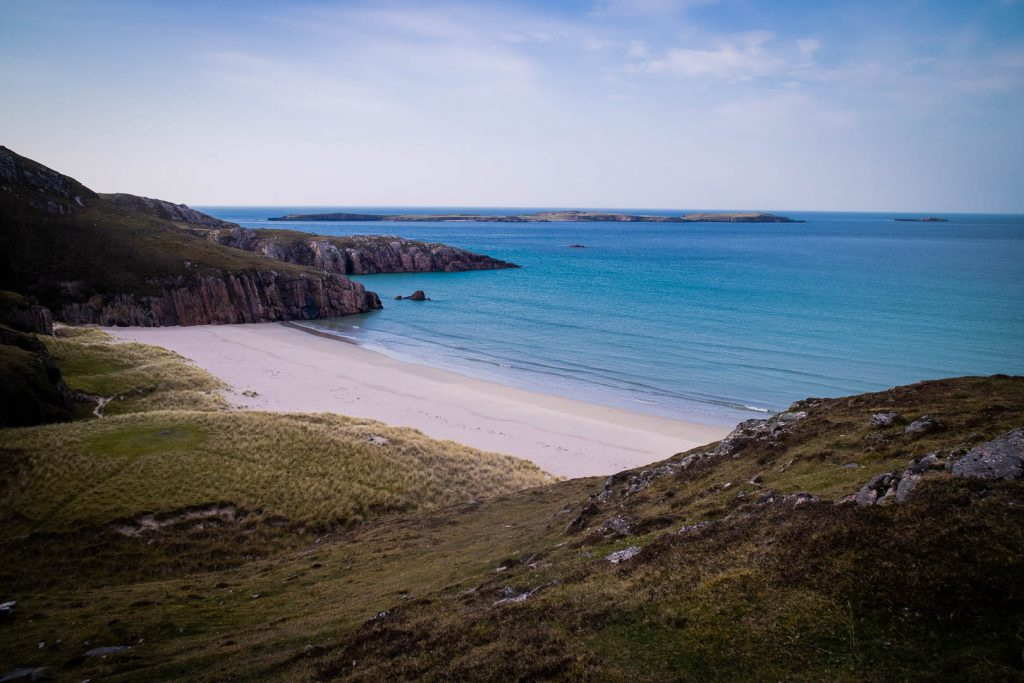 Sandy beach near Durness