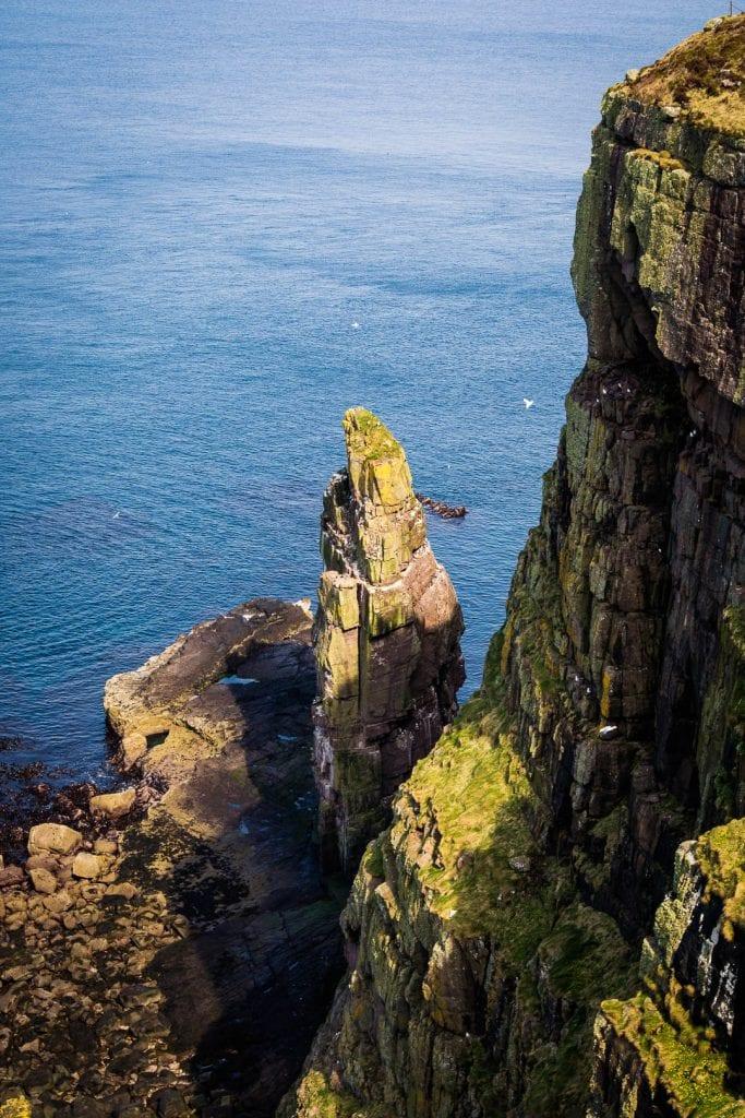 A sea stack on Handa Island