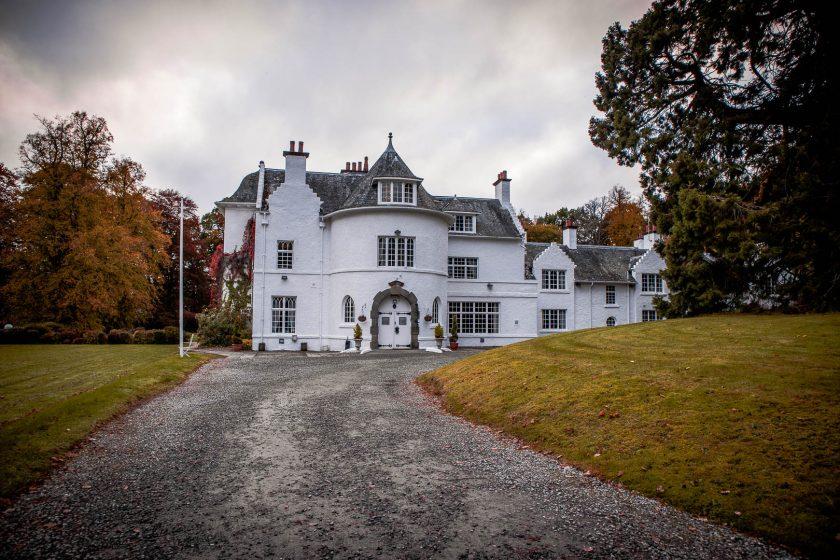 Achnagairn Estate castle hotel near Inverness