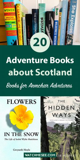 Not being able to travel sucks, but luckily we will always have books! Check out these 20 amazing adventure books about Scotland so you can keep exploring.