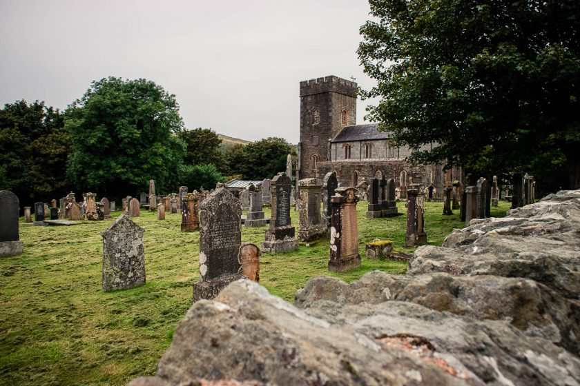 Church and cemetery in Kilmartin