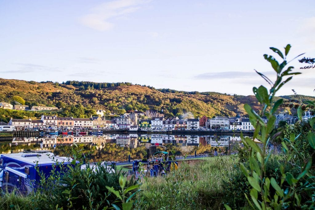 Tarbert on the Kintyre peninsula, Scotland