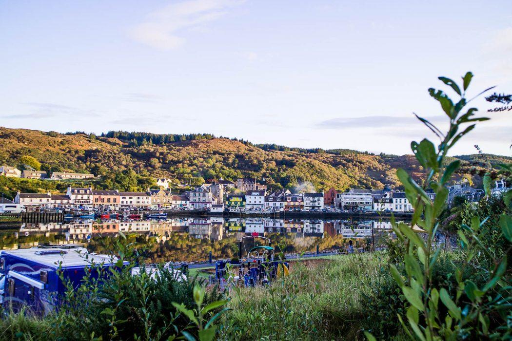 Tarbert on the Kintyre peninsula, Scotland