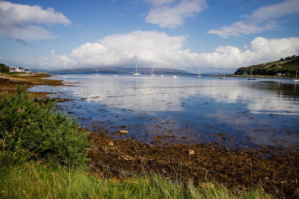 The Isle of Arran is a brilliant weekend getaway from Glasgow or Edinburgh.