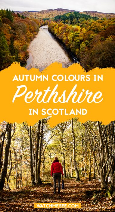 Nowhere does autumn quite like Perthshire! Here are my top tips for planning a seasinal trip to Perthshire and enjoy autumn in Scotland.