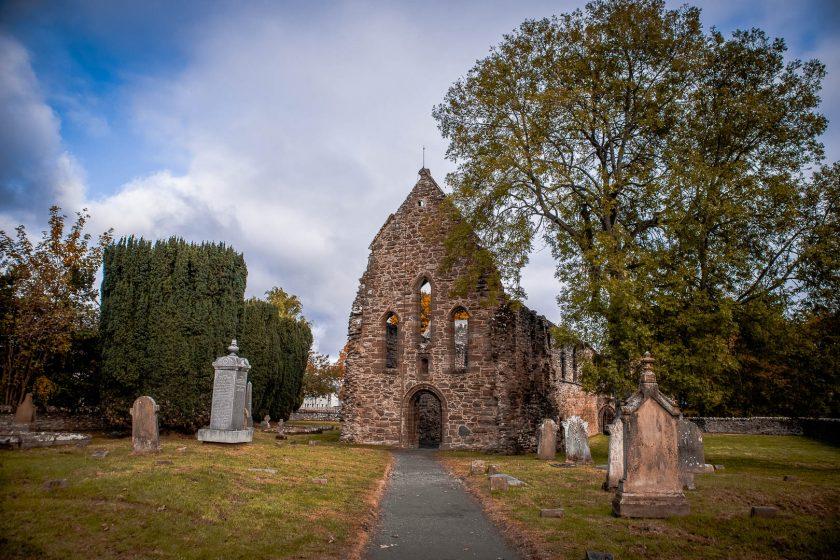 Beauly Abbey near Loch Ness in Scotland