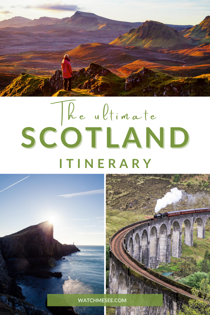 This 8-day Scotland itinerary includes all the bucket-list worthy highlights of Scotland, tons of practical advice, a map + a FREE e-book!