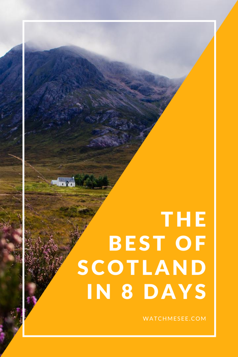 Want to see the highlights of Scotland, but only got 8 days? Follow this one week Scotland itinerary to experience the best of Scotland.