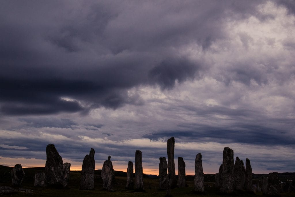 The Callanish Standing Stones on the Isle of Lewis