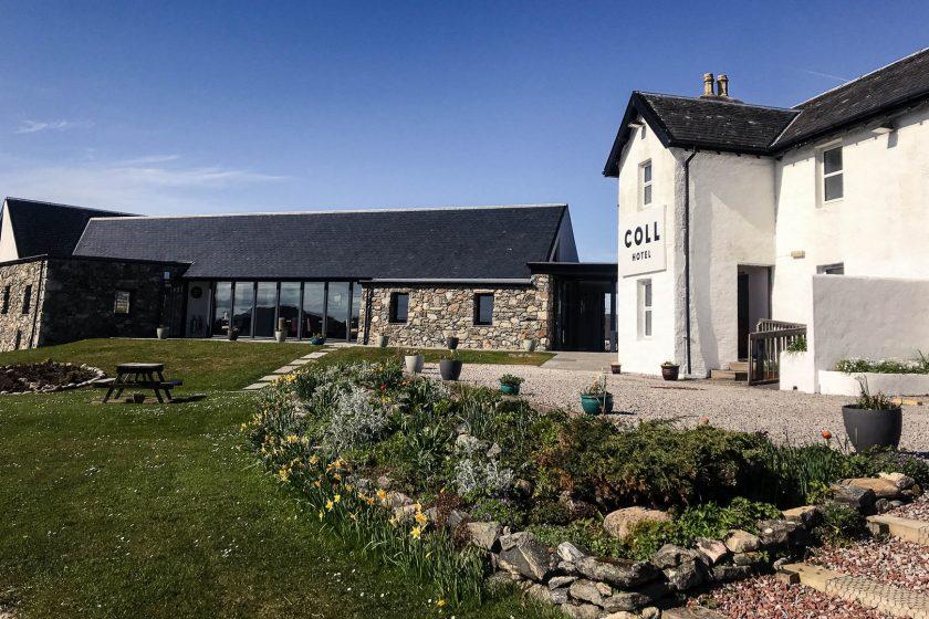Coll Hotel, Isle of Coll, Scotland