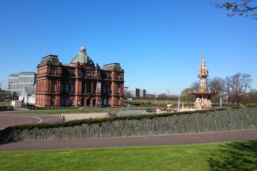 People's Palace at Glasgow Green.