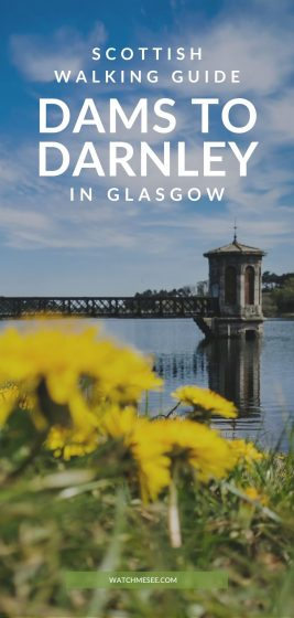 Tired of busy city parks? Explore the woodlands, meadows and reservoirs of the lesser-known Dams to Darnley Country Park in Glasgow!