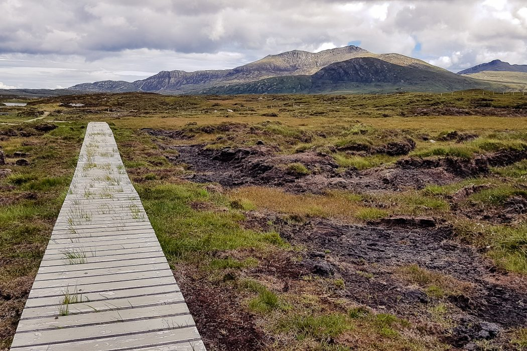 Mountains on South Uist