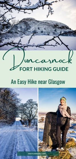 Looking for walks near Glasgow? Pack your hiking boots and plan a trip to East Renfrewshire with this hiking guide for Duncarnock Fort.