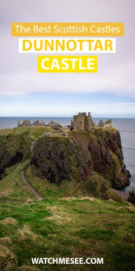 No trip on the Scottish Castle Trail is complete without a stop at Dunnottar Castle. Read on for everything you need to know about visiting the castle!