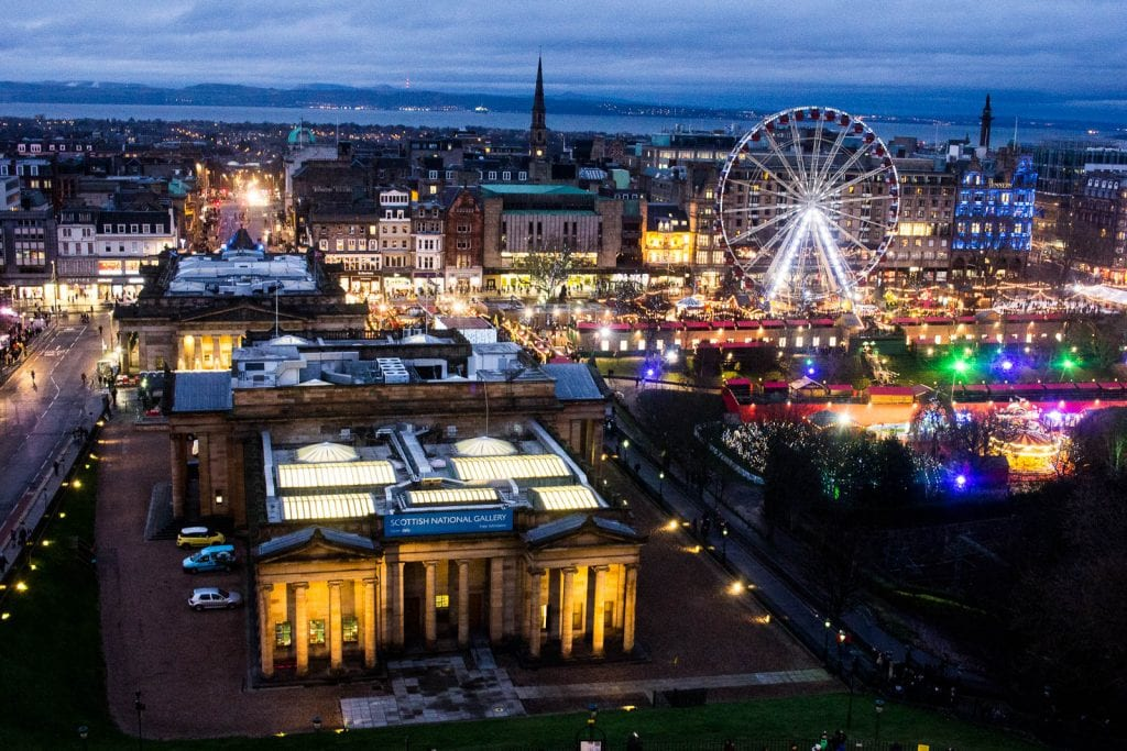Spending New Year's Eve, or Hogmanay in Edinburgh is one grand sparkling party - and makes for a good reason to visit Scotland in winter!