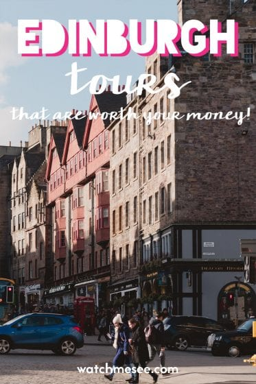 Here are 13 Edinburgh tours that are worth your money and will give you an excellent introduction to the history, culture and stories of Edinburgh!