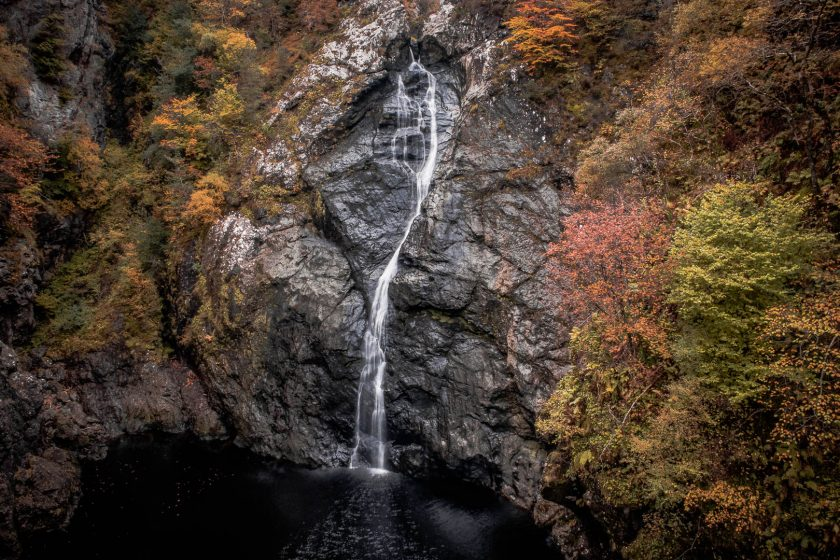 Falls of Foyers near Loch Ness in Scotland