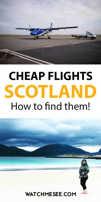 In this practical how-to guide, frequent traveller Sara Bublitz shares her expert advice and pro tips on how to find cheap flights to Scotland.