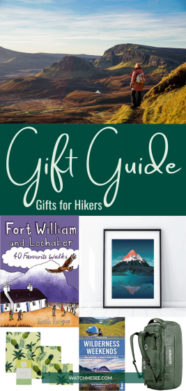 This Hiking Gift Guide 2020 will give you great ideas for gifts for hikers, campers and adventurers who love spending time outside!