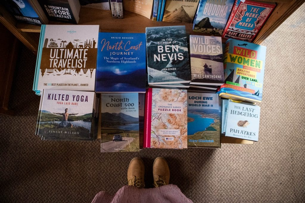 North Coast 500: Books at Hillbillies Bookstore in Gairloch