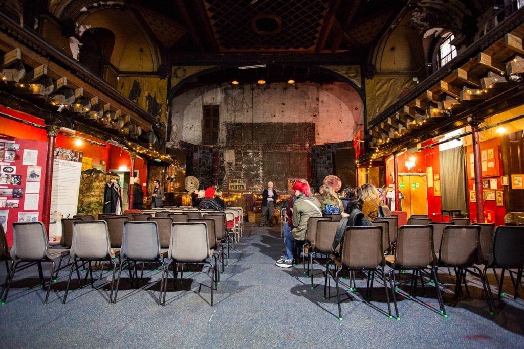 The historic Music Hall of Britannia Panopticon in Glasgow.