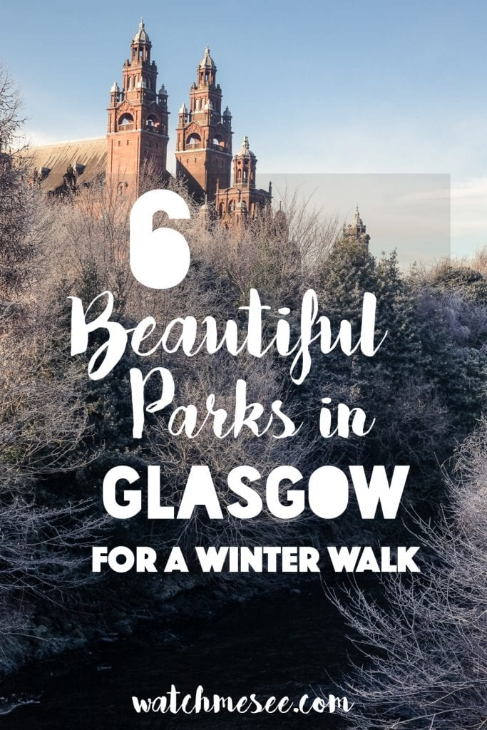Easy Glasgow Walks: Beautiful Parks in Glasgow in Winter   Watch Me See   Winter is a great time to visit Glasgow and explore some of its easy walks around the city - and there are plenty of them. This is a guide to some of my favourite Glasgow walks in parks across the city - parks that turn into picture-perfect winter-wonderlands in the snow and make for ideal lunch-time getaways!