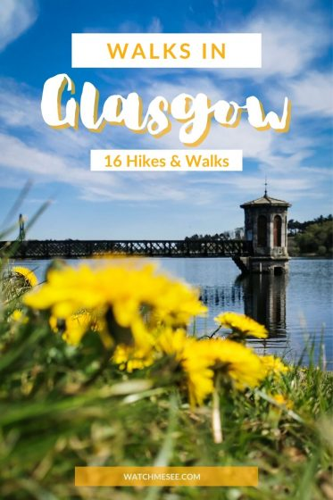 Tired of walking laps in small city parks? Here are 16 brilliant hikes and walks in Glasgow - all within 5 miles from the city border!