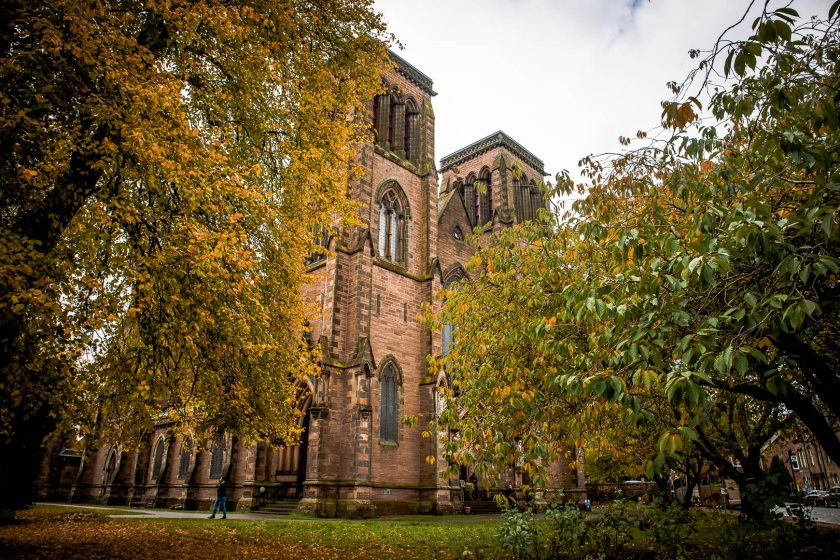 Inverness Cathedral in Scotland