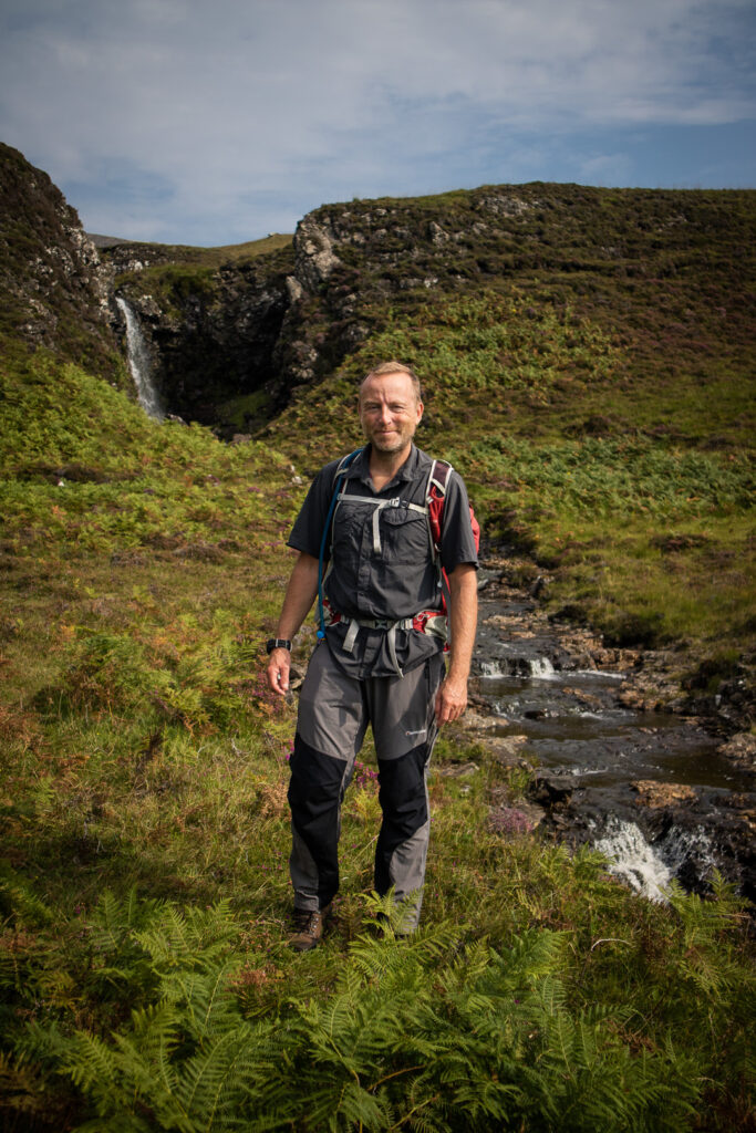Hiking guide Tony Mclean on the Isle of Mull