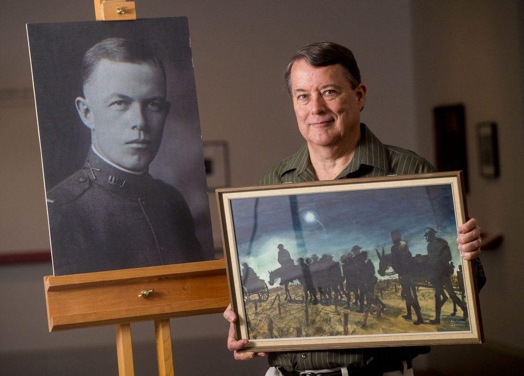 Joel Parkinson at Kelvingrove Museum.